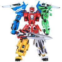 机器人变形金刚 钢铁飞龙2奥特曼变形玩具金刚5恐龙机器人全套装模型男孩