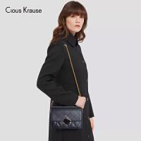 【1件3折,到手价:102.9元】Clous Krause CK包包女包2019新款单肩斜挎包潮包单肩链条斜挎包菱格小