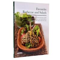FAVOURITE BARBECUE AND SALADS 最喜爱的烧烤和沙拉 西餐料理食谱 西餐菜谱参考书籍