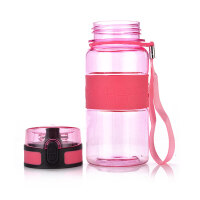 红兔子 便携防漏杯子运动水壶水杯500ML 粉色