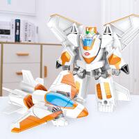 合金一步变形玩具金刚5红蜘蛛大黄蜂机器人飞机模型男孩