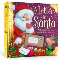 【全店300减100】英文原版Christmas圣诞绘本 A Letter To Santa 给圣诞老人的一封信 儿童图