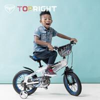 单车12寸14寸16寸儿童自行车3岁6岁男女孩宝宝脚踏