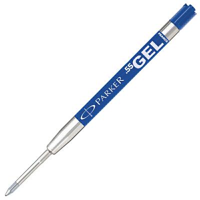 派克(PARKER)乔特凝胶水笔蓝色墨水笔芯【凝胶笔原子笔通用笔芯】