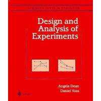 【预订】Design and Analysis of Experiments