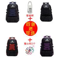 户外登山包双肩女旅行包超轻大容量背包男多功能出差旅游书包
