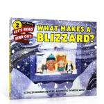 【顺丰速运】英文原版绘本 What Makes a Blizzard 暴雪的产生 儿童天气小百科 科普读物 早教书籍