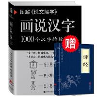 学校推荐 图解《说文解字》画说汉字1000个汉字的故事许慎著汉字的演变过程精辟图说展示汉字在的使用状况语言文字书籍