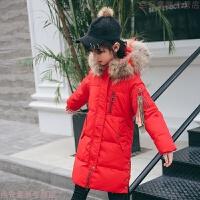 女童棉衣2018新款洋气中长款棉袄冬季外套儿童羽绒小女孩棉袄