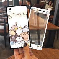 vivoy51手机壳女款y55全包防摔a个性创意x5pro硅胶可爱d潮韩国软
