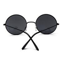 生日礼品潮流权志龙同款太阳眼镜黄晓明婚礼时尚复古圆形小框男士墨镜送朋友创意礼物