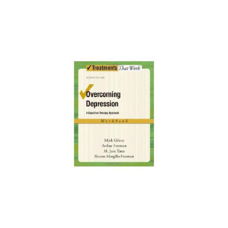 【预订】Overcoming Depression: A Cognitive Therapy Approach 美国库房发货,通常付款后3-5周到货!