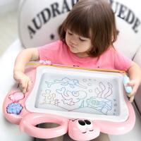 宝宝涂鸦板 1-3岁2玩具 儿童画画板磁性写字板笔 彩色小孩幼儿磁力