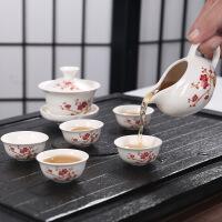 【爆款直降 限时秒杀】汉馨堂 茶具套装 高档功夫茶具套装批发定制logo手绘青花陶瓷茶具创意