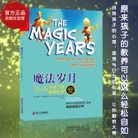 魔法岁月 0-6岁孩子的精神世界 解读0-6岁幼儿童心理学书籍生理与心理变化正面管教庭教育心理学书籍
