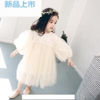 春季儿童连衣裙0小女童1生日2礼服3蓬蓬裙婴儿宝宝网纱公主裙仙