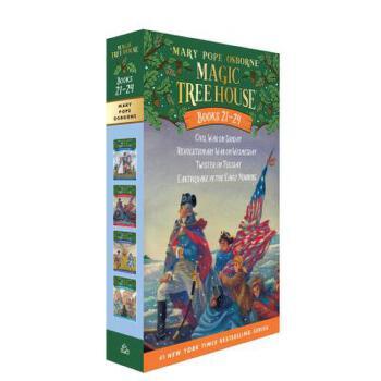 【预订】Magic Tree House Volumes 21-24 Boxed Set  American History Quartet 预订商品,需要1-3个月发货,非质量问题不接受退换货。