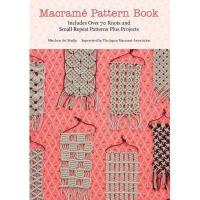Macrame Pattern Book 英文原版 花边编织图案大全