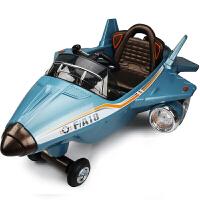 创意新款可坐人儿童电动车四轮可遥控飞机灯光音乐童车时尚拉风电动车小孩宝宝玩具车