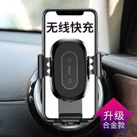 iphoneX无线充电器车载手机支架X苹果8车充iphone8plus三星s8