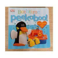 【全店300减100】英文原版 Peekaboo! Bathtime 少儿英语启蒙读物
