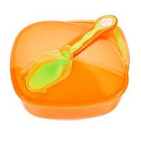 儿童外出餐具勺子婴儿碗勺套装辅食碗宝宝便携