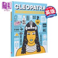 【中商原版】Great Lives in Graphics: Cleopatra大人物漫游记:埃及艳后 儿童历史科普绘本