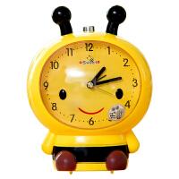 卡通学生懒人用品小闹钟时钟静音夜光儿童会可爱创意座钟