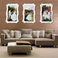 2018090909344480324寸婚纱照放大相框墙创意挂墙结婚照片墙水晶摆台制作大相片框36