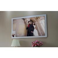 48寸照片制作双层大韩水晶亚米奇照片定制烤瓷版画相框婚纱照