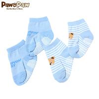 【1件3折 到手价:23】Pawinpaw卡通小熊童装生儿袜子宝宝保暖袜婴幼儿小袜子