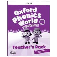 牛津自然拼读教材教师书4 英文原版 Oxford Phonics World Level 4 Teacher's Pa