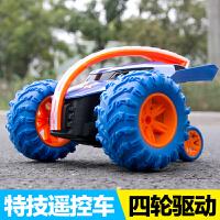 儿童玩具车电动翻转特技车翻斗车越野男孩无线遥控车遥控汽车充电2991
