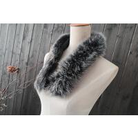 真毛狐狸毛领子女士帽条羽绒服帽子毛领帽领围巾貉子毛毛条冬季