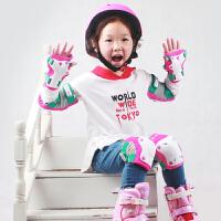 【12.12 三折抢购价139元】护具 儿童轮滑护具套装2019新款男女防摔溜冰滑冰旱冰护膝平衡车骑车头盔全套
