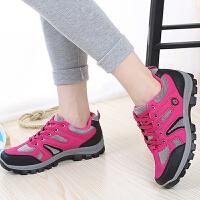 春季新款女士登山鞋防滑户外运动休闲鞋徒步旅游鞋夏季