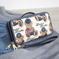钱包女长款潮个性拉链大容量学生女士钱包夹