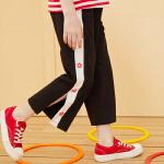 【7.12品秒价:49】巴拉巴拉旗下女童运动阔腿裤儿童休闲裤子2020夏装新款洋气女
