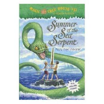【现货】英文原版 Magic Tree House(Merlin Missions 3):Summer of the Sea Serpent 神奇树屋31:海蛇的夏天 神奇树屋系列 新旧版本随 机发! 新旧版本随 机发!国营进口!品质保证!