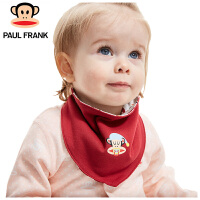 PWA1731077大嘴猴(Paul Frank) 婴幼儿口水巾 三角巾38x16cm  2条/袋
