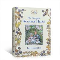 【全店300减100】英文原版 The Complete Brambly Hedge 野蔷薇村的故事全集8个精装大开本以