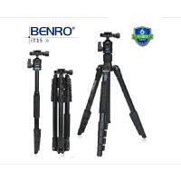 BENRO百诺 it15 旅行便携数码单反相机摄影支架三角架云台套装 独脚架可拆