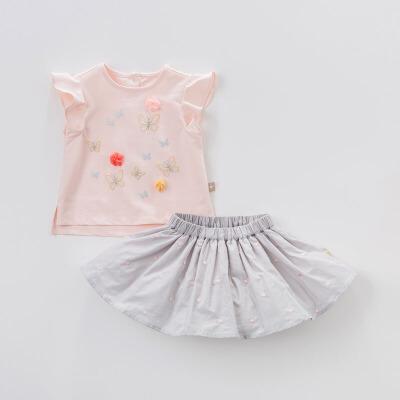 davebella 戴维贝拉 女童公主裙子 DB4956 79元包邮