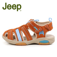 吉普童鞋儿童凉鞋夏2017潮新款包头学步鞋男童沙滩鞋凉鞋机能鞋潮