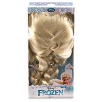 美国disney冰雪奇缘玩具爱莎艾莎公主头发假发生日礼物儿童节礼物 爱莎头发 15厘米-30厘米