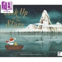 【中商原版】Miren Asiain Lora:抬头看星星 Look Up at the Stars 亲子绘本 低幼童书