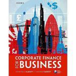 【预订】Corporate Finance for Business