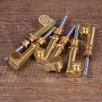 二胡机械铜轴二胡微调珍子黄铜轴子二胡铜轴二胡乐器配件