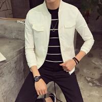 春季小码男装外套155矮个子XS号S码韩版修身立领薄款夹克外衣
