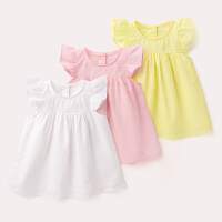 女宝宝裙子夏装 新生儿外出服夏季儿童半身裙 淑女风婴幼儿连衣裙
